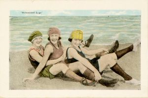 FLORIDA Bathing Girls, 1910