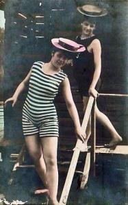 REHOBETH BEACH, Delaware, 1910 [colorized]
