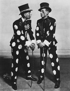 James Doyle and Harland Dixon, 1917. Vaudeville Soft shoe Dancers.