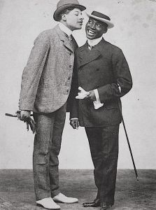 The Kings of Comedy | 1898 Photograph of Bert Williams (left) and George Walker, ca. 1898.
