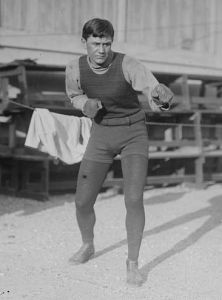 Willie Ritchie was the world lightweight boxing champion from 1912 to 1914.